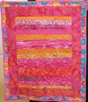 pink batik quilt-2015