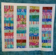 Stacked Coins quilt-2015